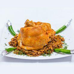 Ciolan proaspat de porc cu varza calita sau iahnie de fasole